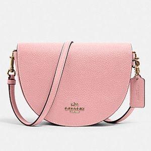Coach Ellen Bubblegum Pink Crossbody Handbag- NWT